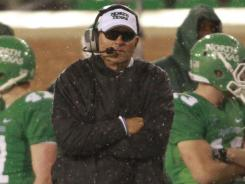 Dan McCarney went 5-7 in his first season as coach of North Texas.