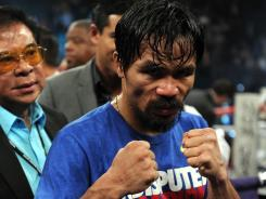 Manny Pacquiao says his fight June 8 could be the last of his career.