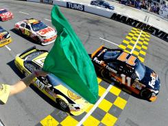 The green flag drops on the Sprint Cup regular season Sunday at the Daytona 500.