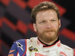 Dale Earnhardt Jr., sporting a full beard at the dawn of the 2012 Sprint Cup season, is aiming for his first win since 2008.
