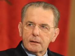 IOC President Jacques Rogge is a reluctant leader when it comes to opportunities for women.