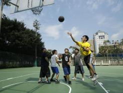Jeremy Lin's sudden rise to stardom with the New York Knicks has inspired a basketball craze in the country of his parents' birth, Taiwan.