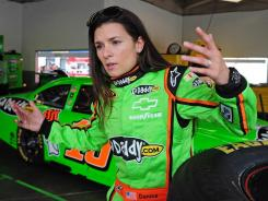 Danica Patrick makes her first Sprint Cup start Sunday in the Daytona 500.