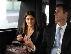 NASCAR driver Danica Patrick and husband Paul Hospenthal try to protect their privacy, but Patrick does tweet items of interest for fans.