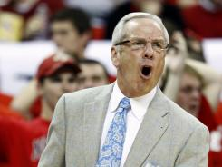 North Carolina coach Roy Williams has seen the Tar Heels start out a nearly-unanimous No. 1, stay in the top 10, but lose by 33 points at Florida State.