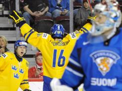 Sweden's Filip Forsberg is among the skilled European forwards dominating this draft.