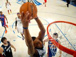 Minnesota Timberwolves forward Derrick Williams hopes his effort in Saturday's slam dunk contest will gain him wider recognition in the NBA.