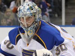 Goalie Ben Bishop is heading to the Ottawa Senators for a second-round pick in 2013.