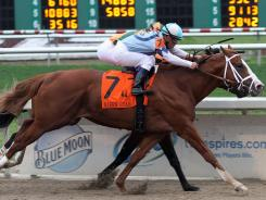 El Padrino managed to win a close race at the Risen Star Stakes. It was his third win in five career races and represented the first victory in a graded race.