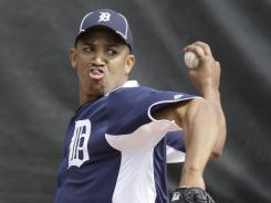 The Detroit Tigers are pitcher Octavio Dotel's 13th major league team.