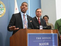 Sacramento Mayor Kevin Johnson skipped the All-Star Game on Sunday to meet through the night with Kings ownership to keep the NBA team in town.