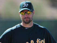 Scott Sizemore hit .249 with 11 home runs and 52 RBI in 93 games with the A's last season.