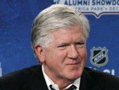 Brian Burke says trade prices were too high, even eight weeks before the deadline.