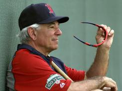 Boston Red Sox manager Bobby Valentine is exchanging words with his predecessor.