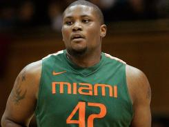 Miami Hurricanes center Reggie Johnson will return to the court Wednesday.