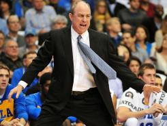 UCLA men's basketball coach Ben Howland disagrees with a critical report on his program and why it has declined.