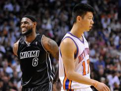 While many fans have focused on the Jeremy Lin phenomenon, LeBron James and the Miami Heat have been happily anonymous while being at the top of the Eastern Conference.
