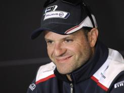 Rubens Barrichello of Brazil has reached a one-year deal with KV Racing Technology and will make his IndyCar debut on March 25 in St. Petersburg, Fla.