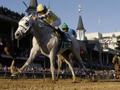 Hansen, capturing the Breeders' Cup Juvenile in November at Churchill Downs.
