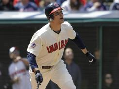 Indians' Grady Sizemore was limited to 71 games last season due to injuries.