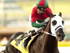 Ultimate Eagle, with jockey Martin Pedroza, won the Grade II, $200,000 Strub Stake on Feb. 4 at Santa Anita Park