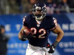 Chicago running back Matt Forte (22) has been given the franchise tag by the Bears.