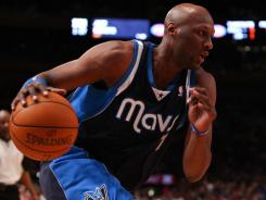 Mavericks power forward Lamar Odom is averaging 7.7 points, 4.5 rebounds, 1.7 assists and shooting 35.7% from the field in 21.4 minutes, all career lows.