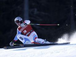 Feuz takes overall World Cup lead with super-G win