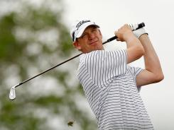 Tom Gillis is at 8-under 132 at the Honda Classic to be on top of a leaderboard for the first time.