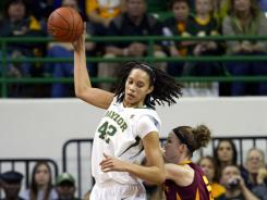 Brittney Griner scored a career-high 41 points to help top-ranked Baylor complete its first undefeated regular season.