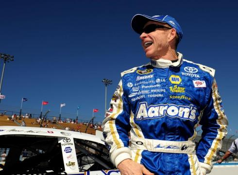Mark Martin On Top, Wins Pole for Phoenix Race