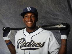 Cameron Maybin hit .264 with nine homers and 40 RBI and stole 40 bases in a career-high 137 games for the Padres in 2011.