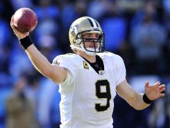 Drew Brees and the Saints can't agree to a long-term contract.