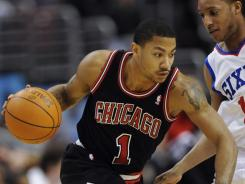 Derrick Rose scored a game-high 35 points to lead the Bulls to their 13th win in 15 games.