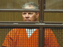 In this June 16, 2011 file photo, former baseball player Lenny Dykstra appeared in a courtroom in San Fernando, Calif.