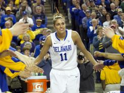 Elena Delle Donne has helped Delaware reach a school record for wins (27) and its first national ranking.