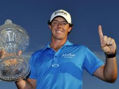 Rory McIlroy's No. 1 and he knows it. It's something the golf world has expected since he first burst onto the scene three years ago.
