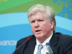 Brian Burke oversaw the USA team that won a silver medal at the 2010 Vancouver Olympics.