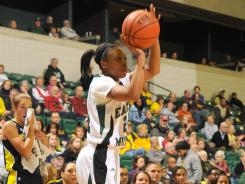 Tavelyn James also played last year on the USA Basketball team that took part in the Pan American Games.