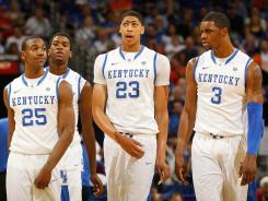 Kentucky is the top overall seed in the NCAA tournament, but faces a tough road to get to the Final Four.