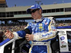 Mark Martin, who was ninth last week at Phoenix, will drive for Joe Gibbs Racing for the first time this weekend in the Nationwide Series.