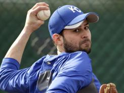 Royals pitcher Jonathan Sanchez is entering his final season before free agency.