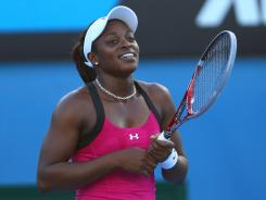 Sloane Stephens, 18, who is in the field at the BNP Paribas Open in Indian Wells, Calif., is a rising star in U.S. tennis.