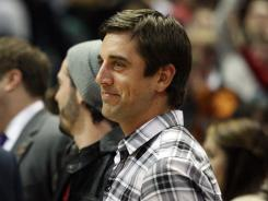 Packers QB Aaron Rodgers enjoys attending Bucks and Brewers games.