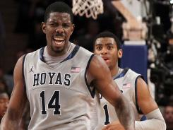 Sims Leads HOYAs Over Pitt