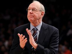 Syracuse coach Jim Boeheim said the school is waiting to hear back from the NCAA after reporting issues with drug policy five years ago.