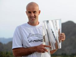 Ivan Ljubicic of Croatia, who won the BNP Paribas Open in 2010, announced he will retire from tennis in April.