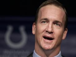 Peyton Manning has been throwing well for months, his dad, Archie Manning, says.