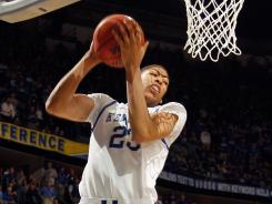 The rebounding skills of forward Anthony Davis is one of the reasons the Kentucky Wildcats are projected to grab a No. 1 seed in the NCAA tournament.