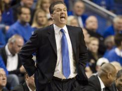 Kentucky coach John Calipari has found success despite turning over his roster each year.